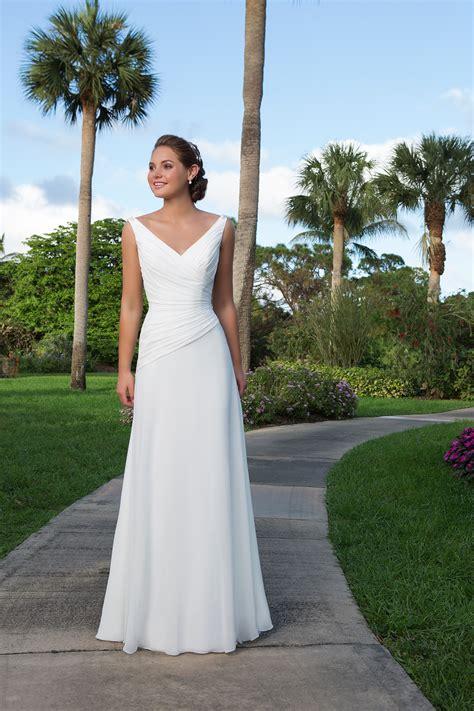 beautiful beach wedding dresses hitched co uk