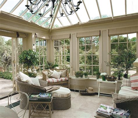conservatory living room hydrangea hill cottage conservatory living