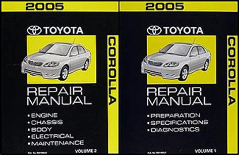 automotive repair manual 1994 toyota corolla spare parts catalogs 2003 2006 toyota matrix 2wd corolla auto transmission repair shop manual