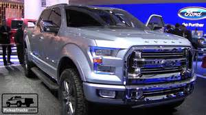 Ford F150 2015 Interior Ford Atlas Concept Youtube