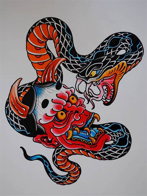 asian snake tattoo designs 42 japanese snake tattoos collection