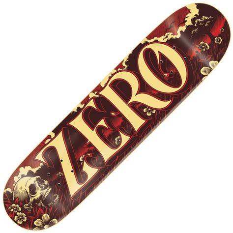 zero decks zero skateboards zero valley skateboard deck 8 0