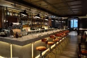 Bar Counter Carnevino Steakhouse By Mario Batali Hong Kong Asia