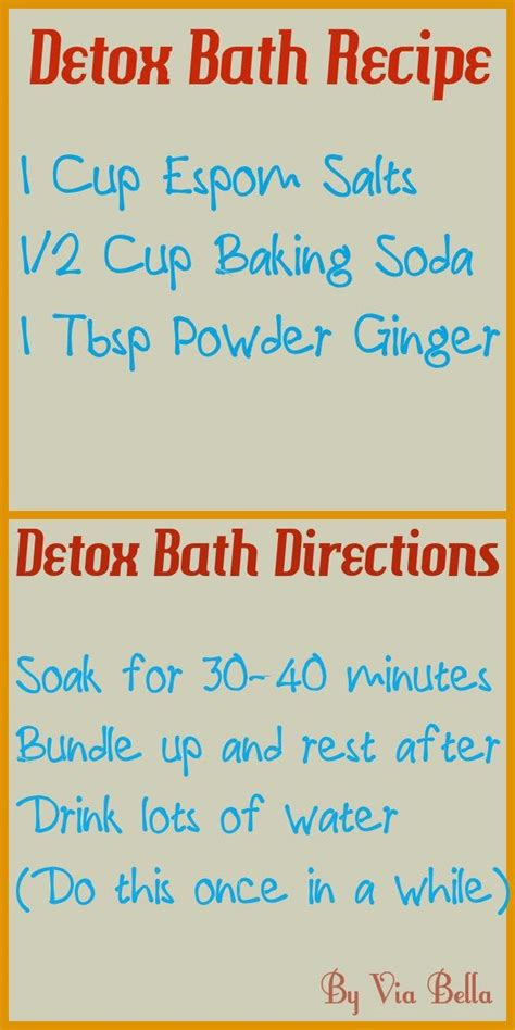 Best Ingredients For Detox Bath by 1000 Images About Detox Bath Recipes Essential Use On