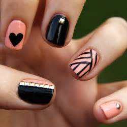 black and pink nail designs images amp pictures becuo