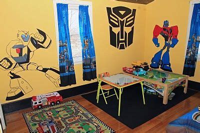 transformers theme room by hasbro in hilton hotel in peru 12 best images about ideas for sons room on pinterest