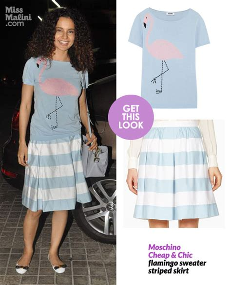 Get The Look Lius Cheap Chic by Get This Look Kangana Ranaut Redefines Cheap Chic