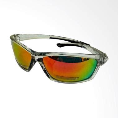 Kacamata Rybn Unisexkacamata Pria Dan Wanita Silver jual kalibre rayban revo kaca mata pria silver