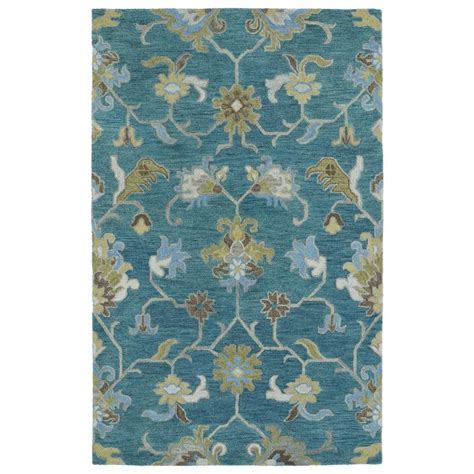 turquoise throw rugs shop kaleen helena turquoise indoor handcrafted throw rug common 2 x 3 actual 2 ft