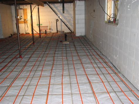 we are building a new home and want to install in floor