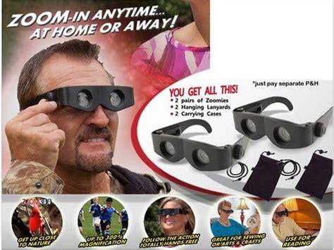 Kacamata Free Binoculars As Seen On Tv as seen on tv zoomies free binoculars black