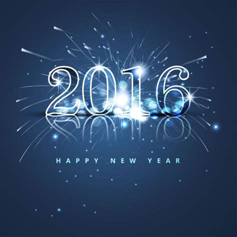 new year 2016 vector free blue glitter new year 2016 background vector free