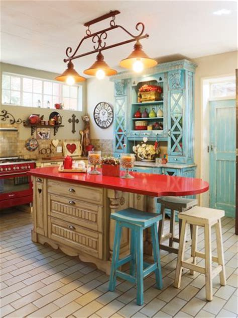 funky kitchen ideas romantic french country look diy decor pinterest
