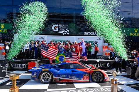 Ford Ecoboost Powers Chip Ganassi Racing To Victory In | ford ecoboost powers chip ganassi racing to victory in