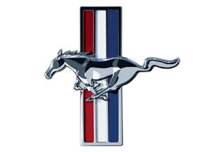 Ford Mustang Symbol Ford Mustang Logo Wallpapers Wallpaper Cave