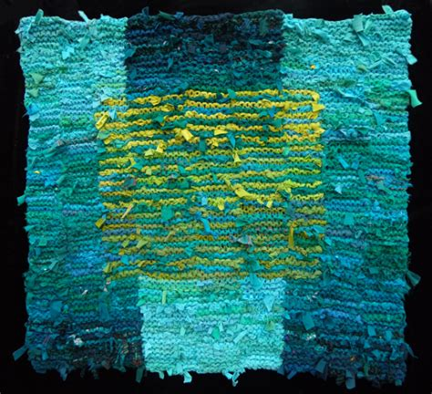 Square Rag Rug by Turquoise Rugs Teal Rugs
