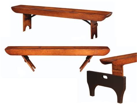 trestle table and bench folding church bench trestle table