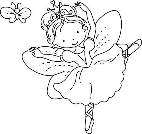 Fairy Princess Coloring Page Free Coloring Pages On Art Princess Hello Coloring Pages