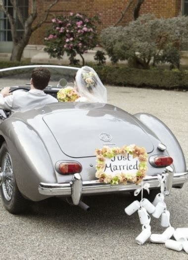 Wedding Car Accessories by Simple Vintage Wedding Car Decoration Creative Ads And More