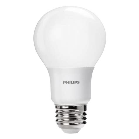 Led 60 Watt Equivalent Light Bulbs Philips 60 Watt Equivalent A19 Led Light Bulb Soft White 2700k 2 Pack Ebay