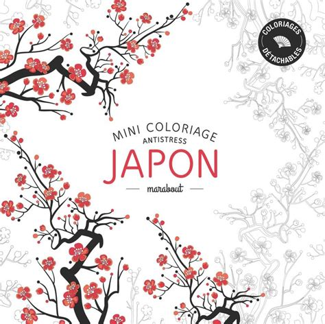 anti stress coloring book japan livre mini coloriage antistress 171 japon 187 collectif