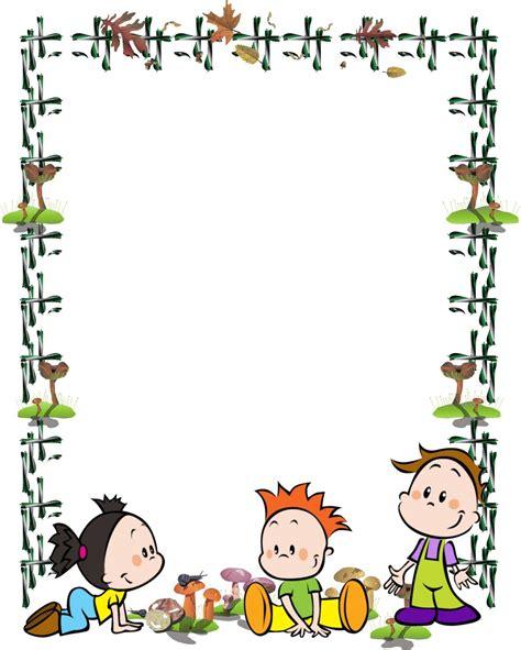 imagenes infantiles tamaño a4 bordes para caratulas marcos infantiles pinterest