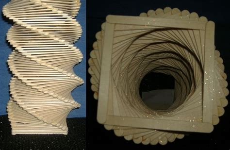 arts and crafts with popsicle sticks for popsicle stick sculpture by art by amanda jpg 800 215 523