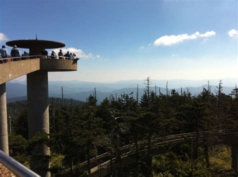 clingmans dome at great smoky mountains national park