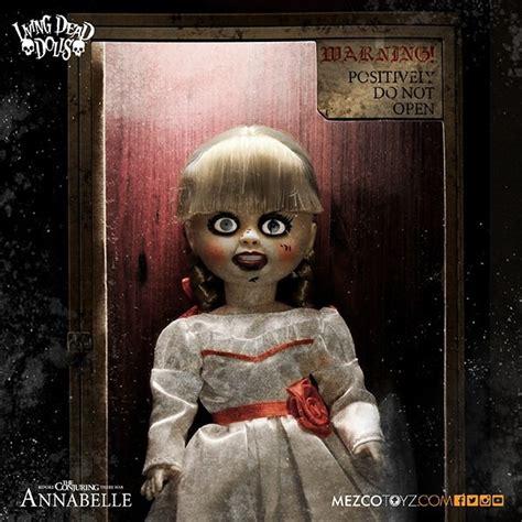 annabelle doll living dead living dead dolls boneca annabelle mezco toyz r 299