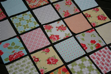 Square Patchwork Patterns - marmalade squares two on the moda bake shop