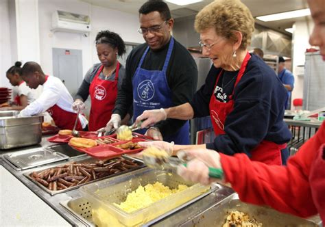 Should Food Be Left For The Homeless by Brunch At Homeless Shelter Is About More Than