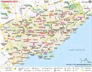 toronto map map