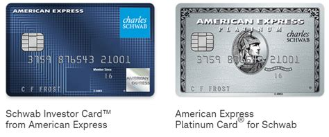 american express blank template card two new american express charles schwab cards are