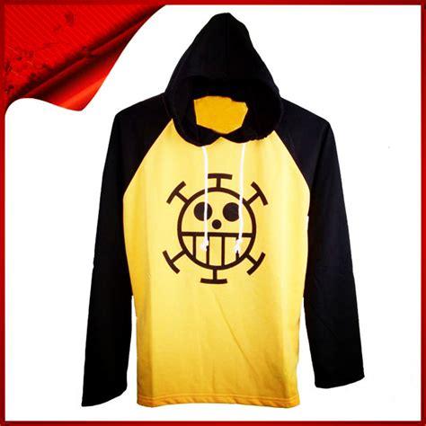 Sweater Hoodie Anime One Peace Trafalgar Stripe anime one trafalgar hoodie jacket hooded sweatshirt sleeve cotton t shirt