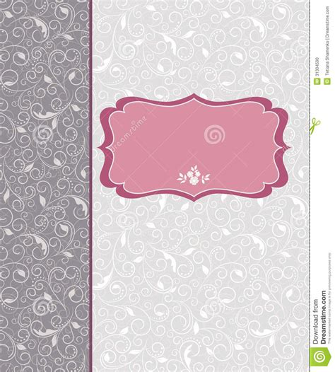 greeting card frame template template frame design for card stock photo image 31304590