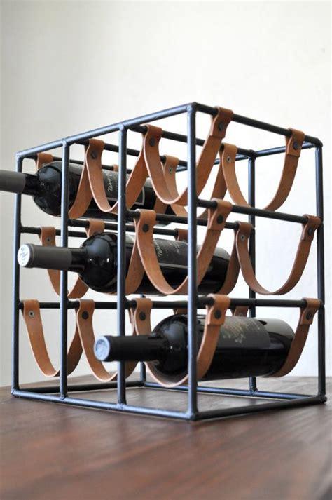 reserved arthur umanoff for raymor 9 bottle iron leather