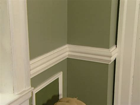 chair rail molding height how to install a chair rail how tos diy