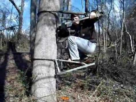 how to set up tree stand tree stand set up painting tree stands