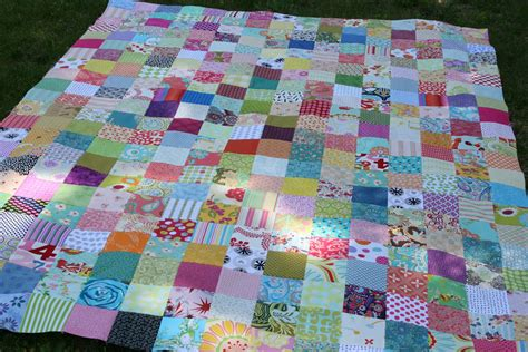 Square Patchwork Quilt Pattern - quilts patchwork