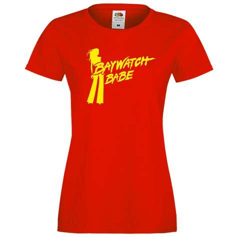 Baywatch Tshirt baywatch fitted t shirt