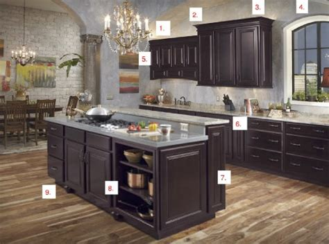 espresso colored kitchen cabinets waypoint maple espresso kitchen is style 510s