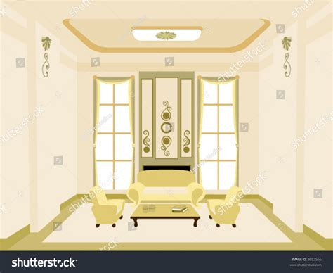home interior vector stock vector 3652566
