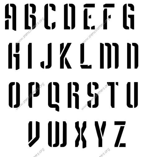 lettere fi futuristic letter stencils numbers and custom made to