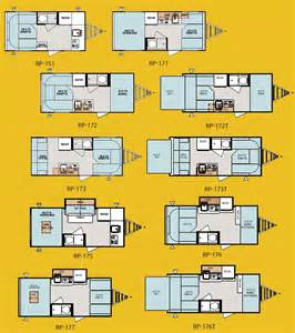 Pod Floor Plans Forest River R Pod Ultra Lite Travel Trailer Floorplans