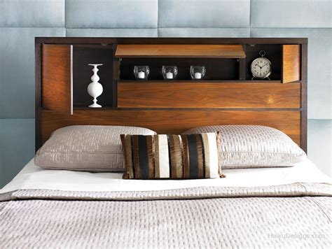 Headboard Storage by Chicago Interiors Alternate Headboard Ideas
