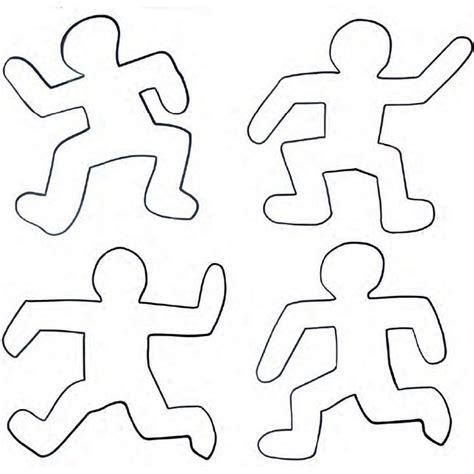 Keith Haring Figure Templates by Keith Haring Projets 224 Essayer Keith Haring