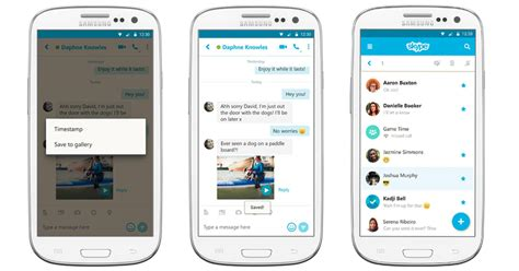 how to save voicemails on android skype update for android lets you save messages mute notifications