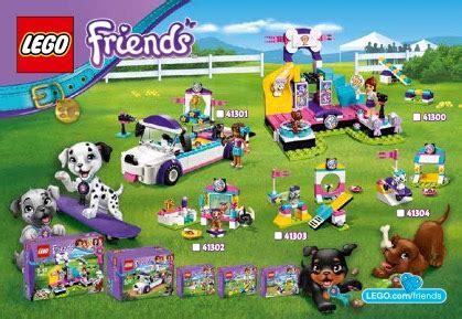 lego friends puppy parade lego puppy parade 41301 friends