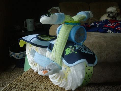 how to make a motorcycle diaper cake for boys youtube motorcycle diaper cake party pinterest