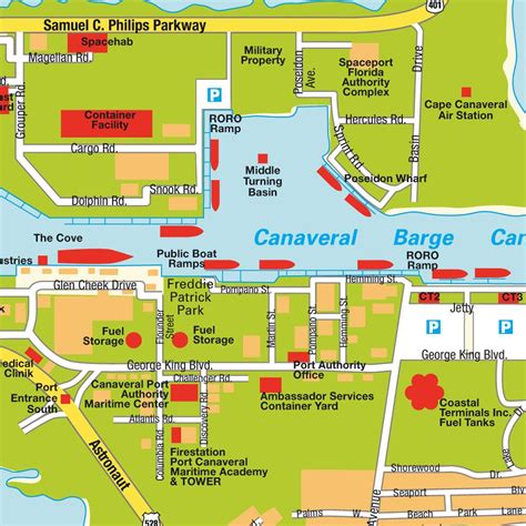 port canaveral map florida map port canaveral fl florida usa maps and directions